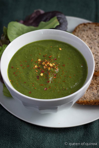 Healthy Green Soup (cold or warm)