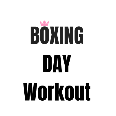 16 Minute Boxing Day Workout