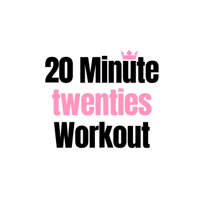 20 Minute 20's Workout