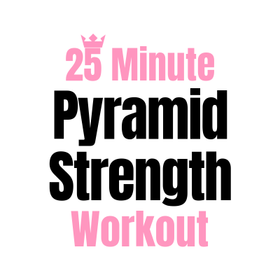 25 Minute Pyramid Workout
