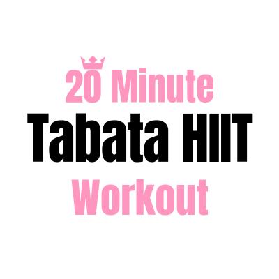 20 Minute Tabata HIIT