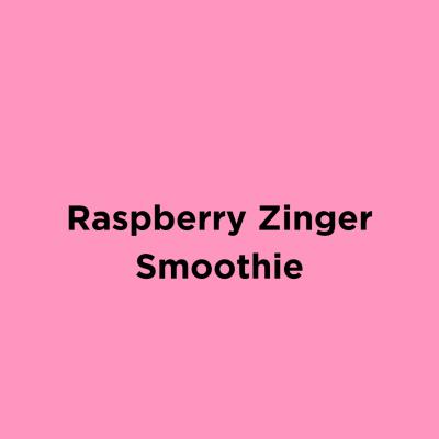 Raspberry Zinger Smoothie