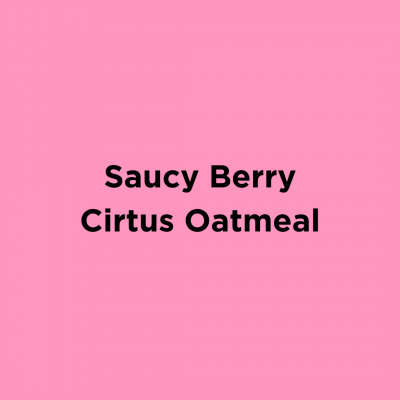 Saucy Berry Citrus Oatmeal
