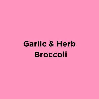 Garlic Herb Broccoli
