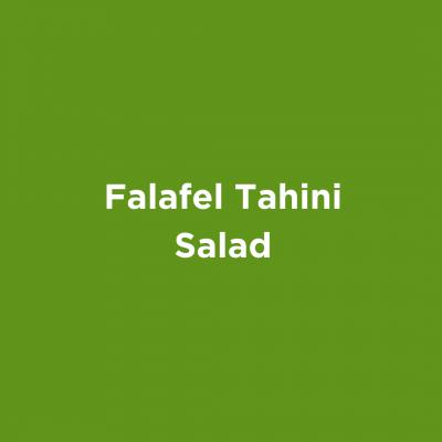 Falafel Tahini Salad