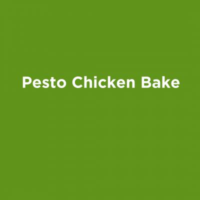 Pesto Chicken Bake