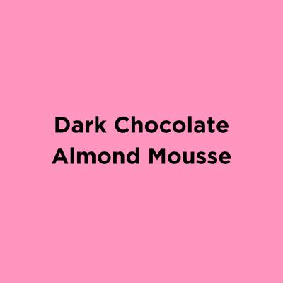 Dark Chocolate Almond Mousse