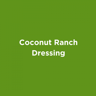 Coconut Ranch Dressing