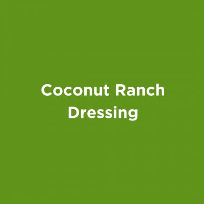 Coconut Ranch Dressing