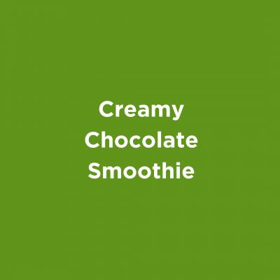 Creamy Chocolate Smoothie