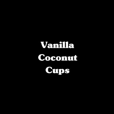Vanilla Coconut Cups