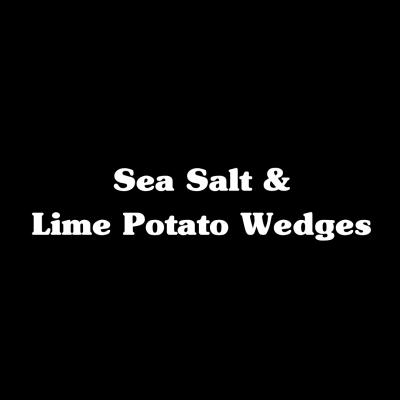 Sea Salt & Lime Potato Wedges