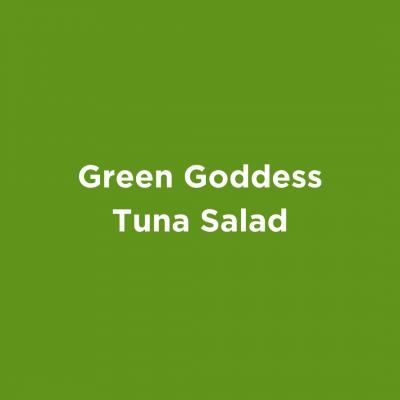 Green Goddess Tuna Salad