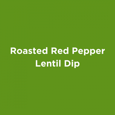 Roasted Red Lentil Dip