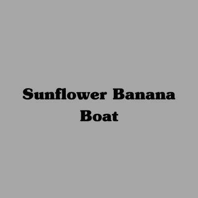 Sunflower Banana Boat