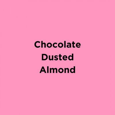 Chocolate Dusted Almonds