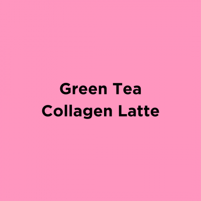 Green Tea Collagen Latte