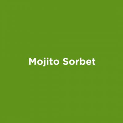 Mojito Sorbet