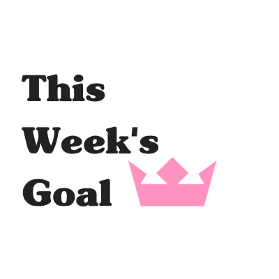 This Week's Goal: January Week 1
