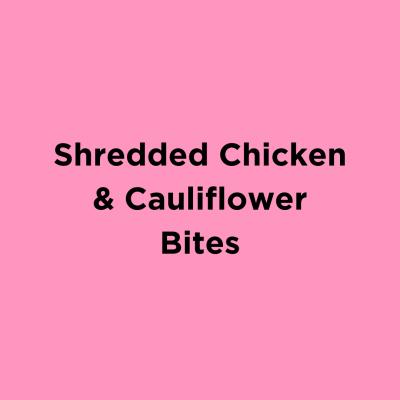 Shredded Chicken & Cauliflower Bake