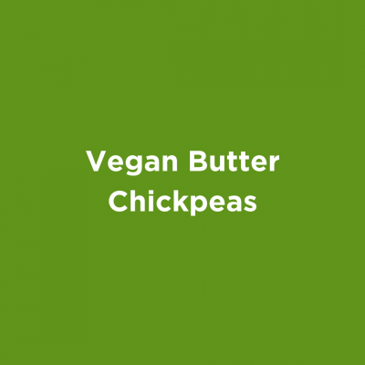 Vegan Butter Chickpeas
