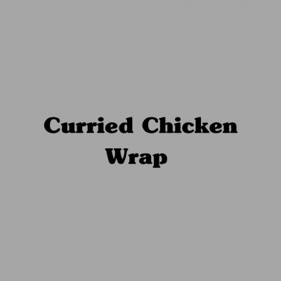 Curried Chicken Wrap