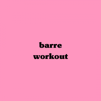 "20 Minute ""No Barre – Barre Workout"""