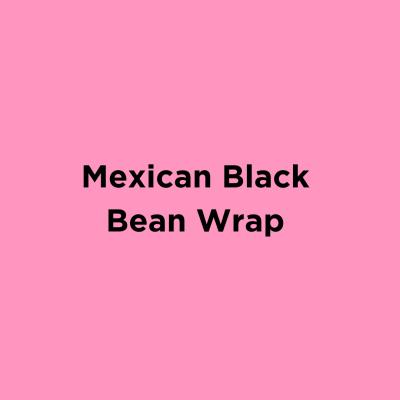 Mexican Black Bean Wrap