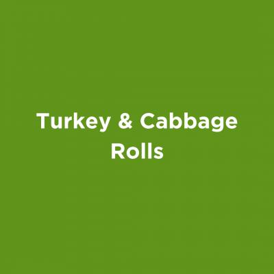 Turkey & Cabbage Rolls