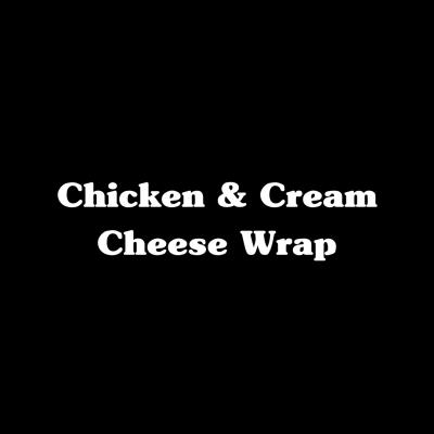 Chicken & Cream Cheese Wrap